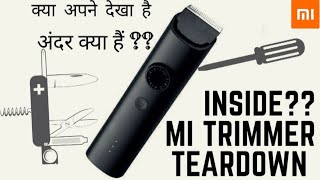 #TV9 Mi beard trimmer First teardown & unboxing . How it protect from water inside protection