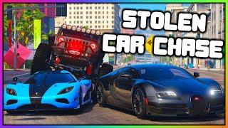 GTA 5 Roleplay - Stolen Bugatti Chased By Assassins | RedlineRP