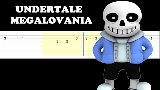 megalovania guitar tutorial easy - TH-Clip