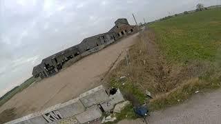 Flatlands abandoned industrial site in the uk, fpv compilation.