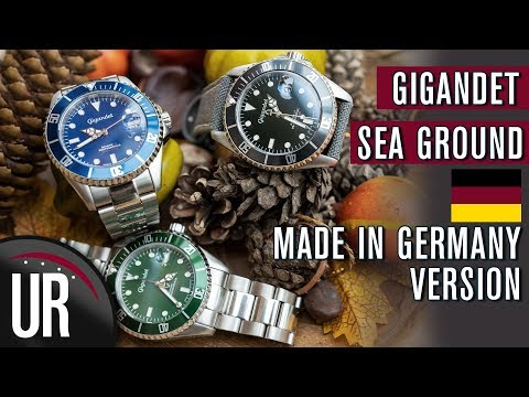 Rolex Hommage MADE IN GERMANY? Gigandet Sea Ground 300 |Test|Review|Deutsch