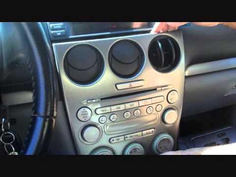 mazda 6 stereo removal 2003 2005 auto repair videosauto. Black Bedroom Furniture Sets. Home Design Ideas