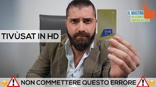 Tivùsat Hd : Non commettere questo errore! Switch Off Sat DVB S2 sostituzione decoder TvSat IlMastro