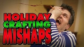 Holiday Crafting MISHAPS (A Coloring for Grown-Ups Special Report)