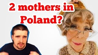 2 mothers in Poland