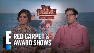 Selena Gomez & Andy Samberg Dish on Their Friendship | E! Red Carpet & Award Shows