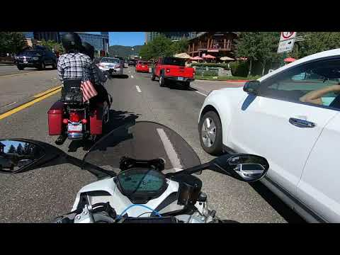 12 Harley Davidson Invite a Ducati rider to cruise to Lake Tahoe