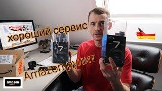 Замена GoPro7 сервис в Amazon всё для Клиента