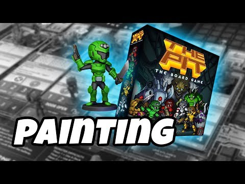 The Pit The Board Game - how to paint SCOUT