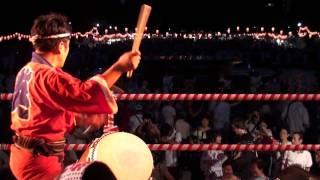 東京音頭・盆太鼓 2010年版 (日比谷公園・大盆踊り大会 100821)