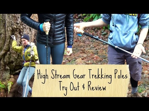 High Stream Gear Trekking Pole Review