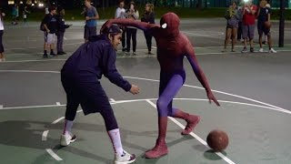 We're back Episode 9 coming soon SpidermanBasketball