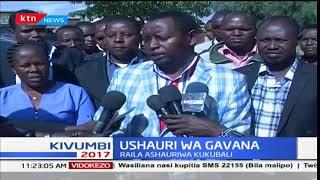 Gavana wa kaunti ya Samburu, Moses Lenolkulal amshauri Raila Odinga kukubali matokeo