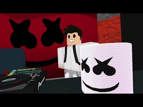 Alone - Marshmello (Roblox Music Video)