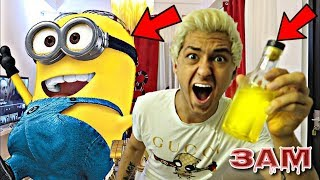 DO NOT USE GIANT POTION ON MINIONS AT 3AM!! *OMG IT ACTUALLY WORKED GIANT DESPICABLE ME MINION*