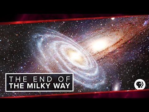 What Happens When Andromeda Collides with Our Milky Way Galaxy?