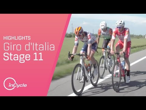 Giro d'Italia 2019 | Stage 11 Highlights | inCycle