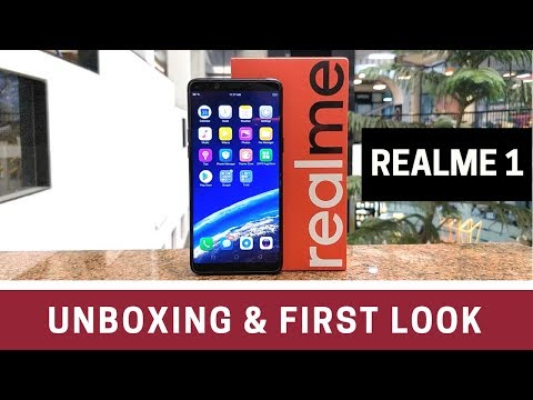 Realme 1 Unboxing & First Look