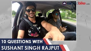 Rapid Fire Drive With Sushant Singh Rajput