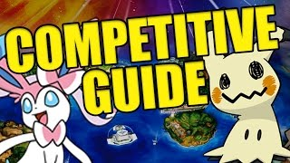 ✔ COMPLETE Pokemon Sun and Moon Competitive Team Building Guide!