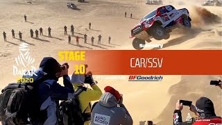 Dakar 2020 - Stage 10 (Haradh / Shubaytah) - Car/SSV Summary