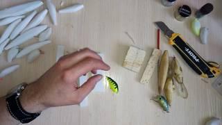 Как сделать воблера из дерева