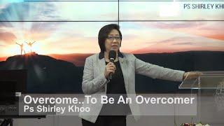 Overcome... to be an Overcomer