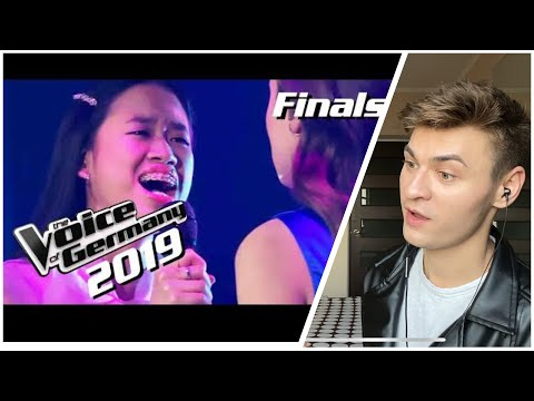 Claudia Emmanuela Santoso feat. Alice Merton - Goodbye ( IS SHE BETTER THAN HER COACH!?)