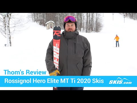 Video: Rossignol Hero Elite MT TI Skis 2020 20 50