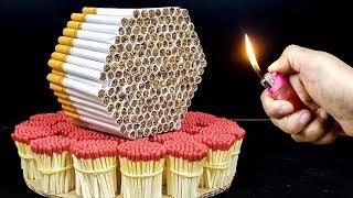 EXPERIMENT Match VS Cigarettes