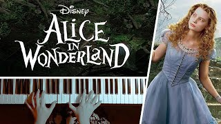 Alice's Theme - Tim Burton's Alice in Wonderland || PIANO COVER