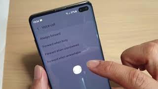 Samsung Galaxy S10 / S10 : How to Setup Call Forwarding