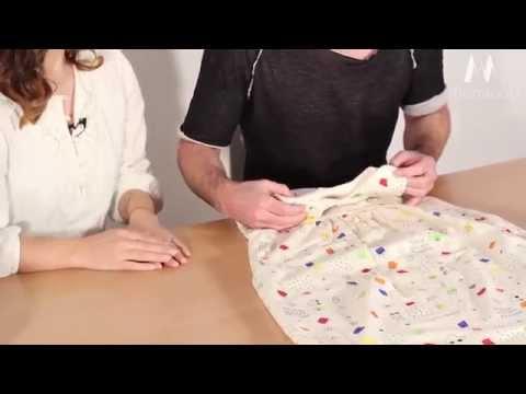 Prolana nachhaltiger Baby-Schlafsack aus Bio-Baumwolle (c) Monagoo.com