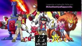 Digimon Xros Wars - Abertura 1 italiana com legendas em português