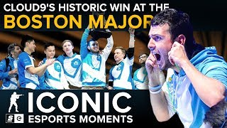 ICONIC Esports Moments: Cloud9's historic win at the Boston Major
