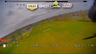 Amax Inno F5 FPV Test Flight # 8 (FPV setup test) (unedited DVR) - 2021-04-04