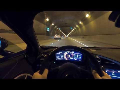 POV McLaren 765LT Tunnel Drive w/ iPE Exhaust Catless Downpipe X Pikachupcar