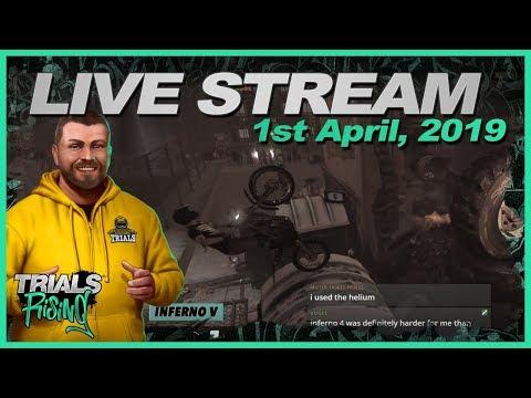 Trials Rising Live Stream - 1 April - No Kidding!!!!!