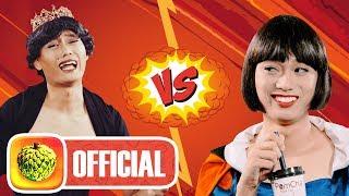 BẠCH TUYẾT vs HOÀNG HẬU | Rap Battle | Review Pomcha | Nhật Anh Trắng Parody