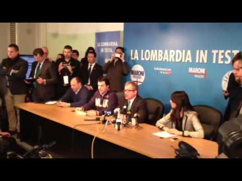 Maroni conferenza stampa