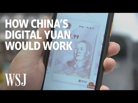 Čínská digitální měna