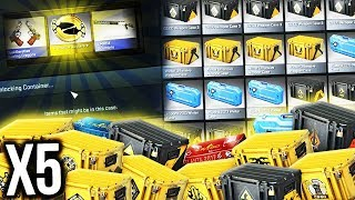 Opening 5 of Every CS:GO Case + Package !