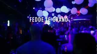 LURESDAY Fedde Le Grand Nocturnal Wonderland Afterparty  LURE Hollywood 9212012