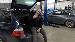 Mautsch Fahrzeugtechnik BMW E61 IBS Ruhestromproblem Batterie Entlädt sich beim stehen