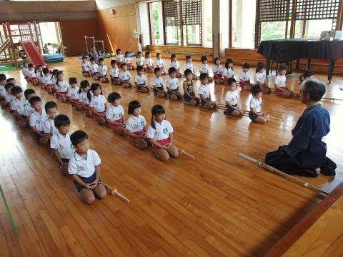 130906大護幼稚園「剣道の時間」