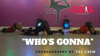 """Chris Brown  """"Who's Gonna"""" NOBODY Choreography by Trinica Goods"""