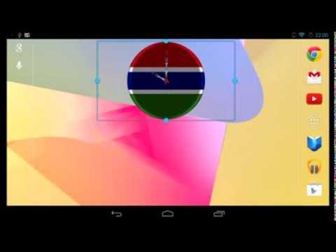 Video of Gambia Clock