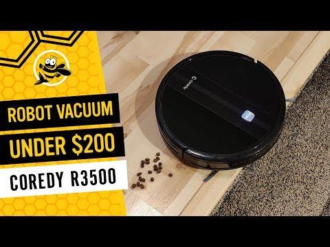 Coredy R3500 - Robot Vacuum Cleaner under $200!