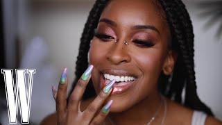 TikTok Makeup Hacks #WithMe @Jackie Aina    W Magazine