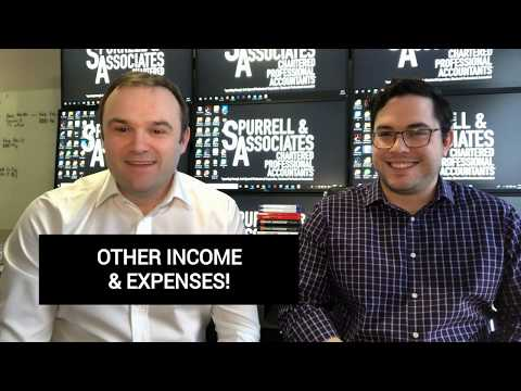 Other Income & Expenses